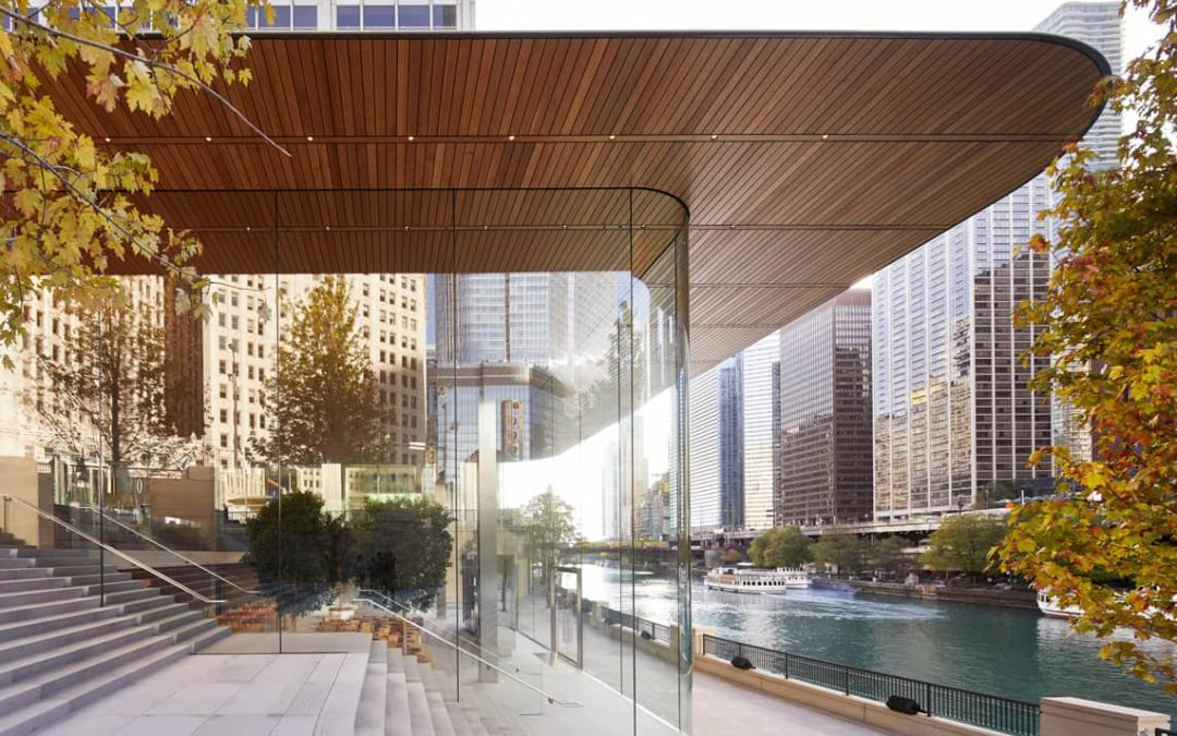 What Apple's Iconic Chicago Store Can Teach Roofers
